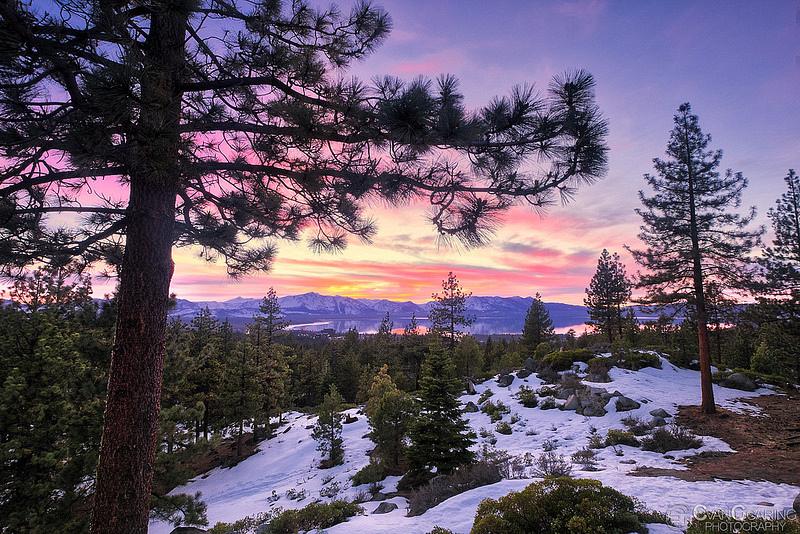Tahoe Sunset 05