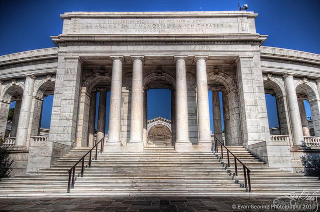 Arlington Memorial Amphitheater Entrance