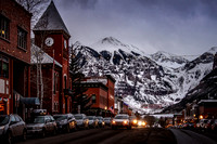 Downtown Telluride at Dusk