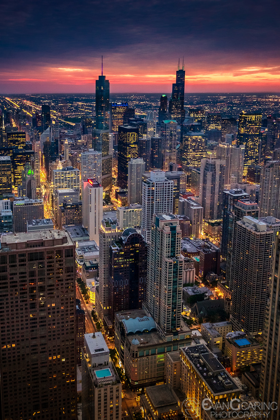 Chicago Skyline Portrait