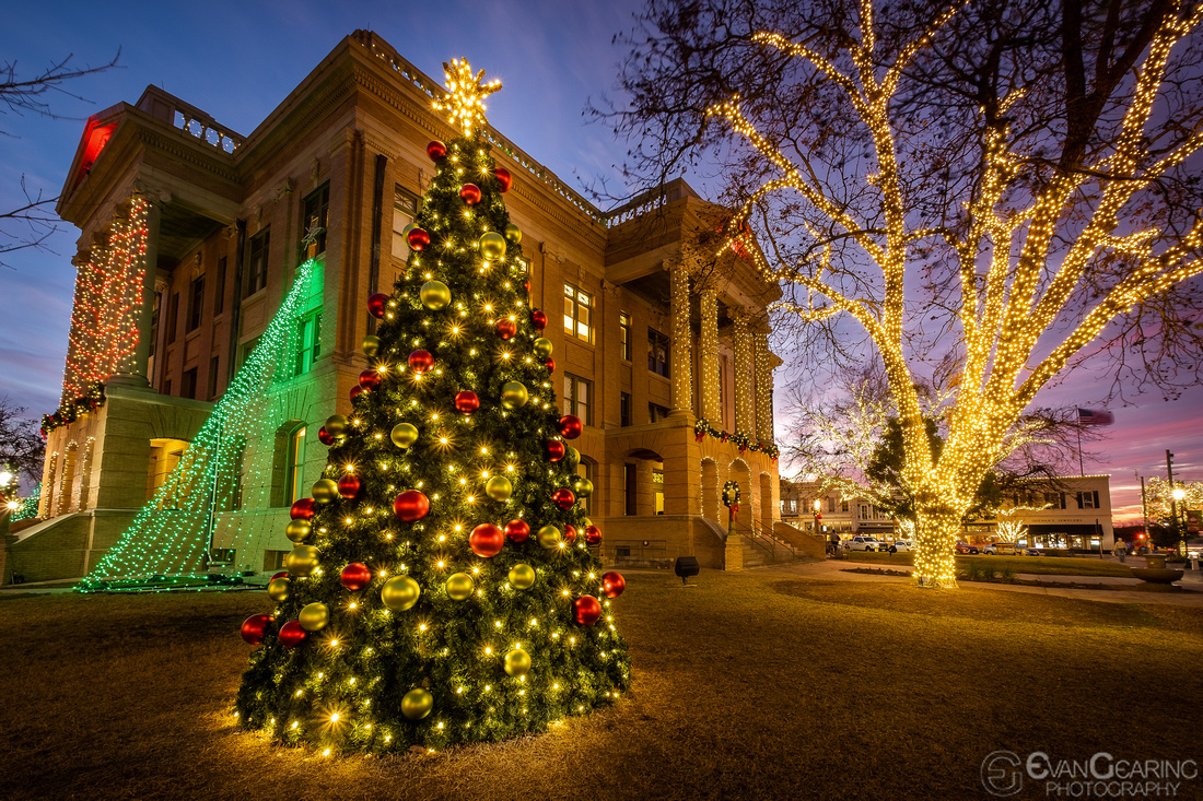 Williamson County Courthouse Xmas 01